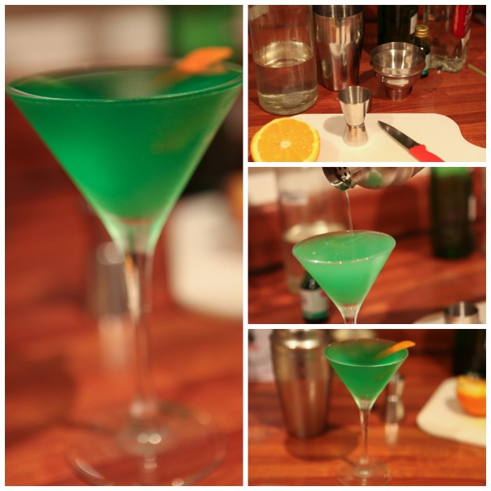 R1. Irish Eyes Cocktail