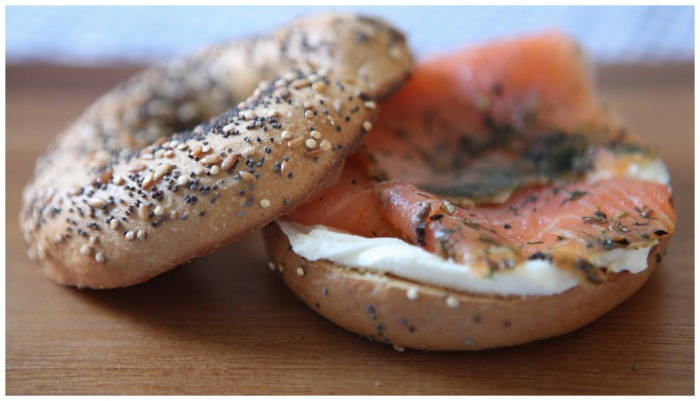 V6. Be Free Bagel review
