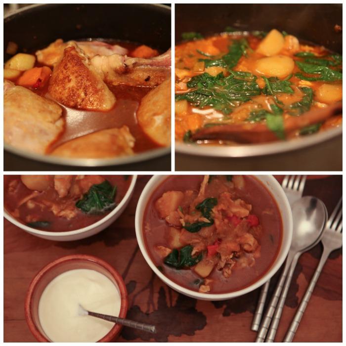 V16. Chicken and Potato Chilli1