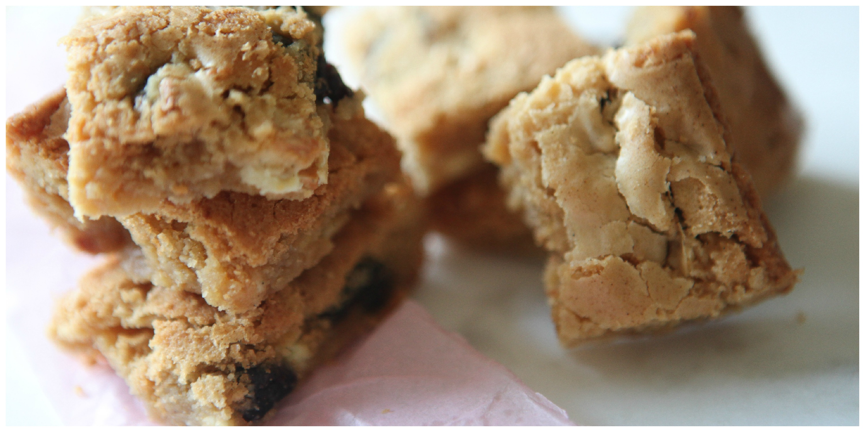 Gluten Free White Chocolate & Cherry Blondies | A Home Made By ...